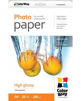 ColorWay High Glossy Photo Paper (PG200020A4)