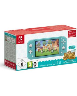 Nintendo Konsola Nintendo Switch Lite Turquoise + Animal Crossing: New Horizon + NSO (3 miesiące)