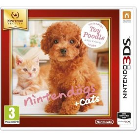 Spēle Nintendo 3DS Nintendogs+Cats-Toy Poodle & new Friends, NI3S507