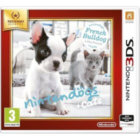 Spēle Nintendo 3DS Nintendogs+Cats-French Bull & new Friends, NI3S504