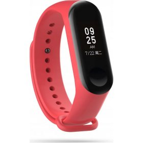 Tech-Protect TECH-PROTECT SMOOTH XIAOMI MI BAND 3/4 RED, 5906735414127
