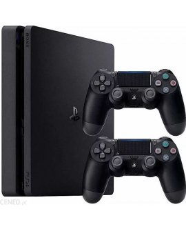 Sony PlayStation 4 Slim 500GB + 2x Dualshock 4 + Gra Fifa 21, 9830825