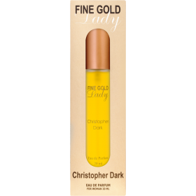 Christopher Dark Fine Gold Lady EDP 20ml, 701437