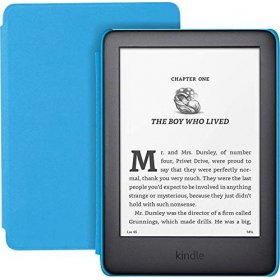 Czytnik Amazon Kindle Kids Edition 2019 black/blue, 0Q10788