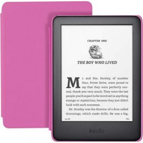 Czytnik Amazon Kindle Kids Edition 2019 black/pink, 0Q10787
