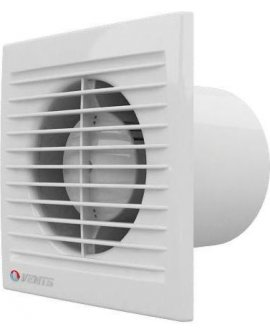 Vents Ventilators ścienny fi 125 16W 55dB standard balts (125S)