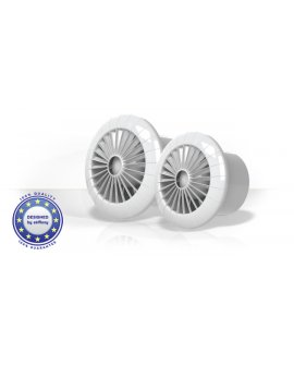 airRoxy Ventilators sufitowy 100mm 15W /łożyska kulkowe/ aRid 100 BB, 01-040