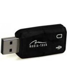 Karta dźwiękowa Media-Tech VIRTU 5.1 USB (MT5101)