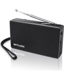 Radio Muse Muse M-030R Black, 2-band portable radio