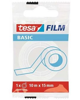 Tesa ma biurowa basic invisible 10m x 15mm (58554-00000-00 TS)