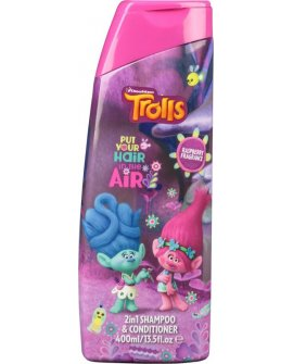 Trolls 2in1 shampoo&conditioner 400ml, 764672