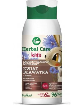 Farmona Farmona Herbal Care Kids Łagodny šampūns micelarny priekš bērniem Kwiat Bławatka 300ml, 212984